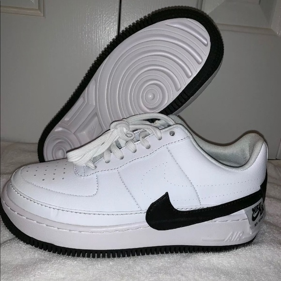 Details about Nike Air Force 1 Jester XX Low Top Womens Shoes White Black AO1220 102 NEW Sz 9